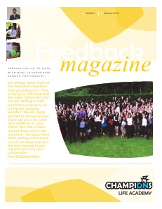 Feedback Magazine 3 - Summer 2013