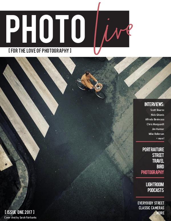Photo Live Magazine First Issue Photo live - cat's add in 2017 versioin