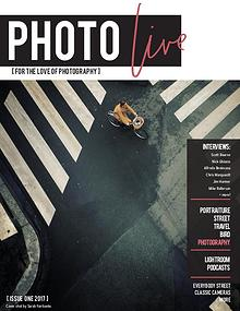 Photo Live Magazine First Issue