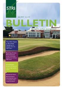 STRI (Sports Turf Research Institute) Bulletin Jul 13