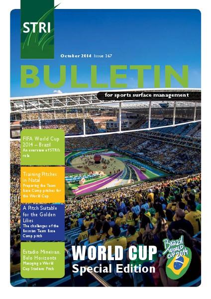 STRI (Sports Turf Research Institute) Bulletin October 2014