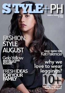 StylePlus PH | Manila Issue 01