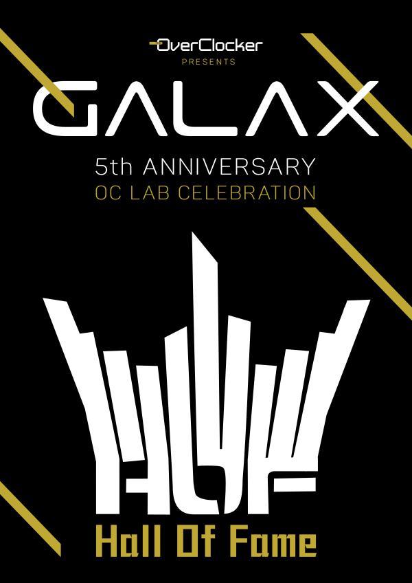 GALAX Overclocking Carnival OC Lab 5th Anniversary