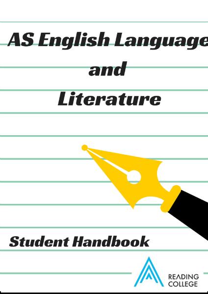AS Lang and Lit Handbook