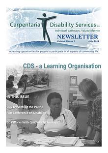 CDS Newsletter June 2014