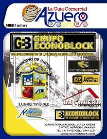 Guia Comercial Azuero Agosto 2013