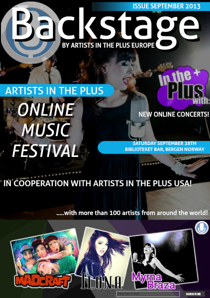 ARTISTS IN THE PLUS September 2013