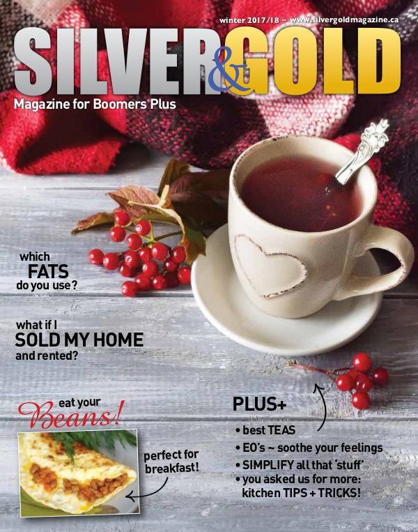 Silver and Gold Magazine Winter 2107-2018