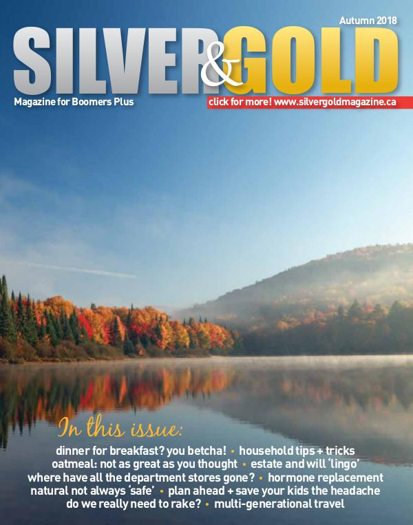 Silver and Gold Magazine Fall 2018