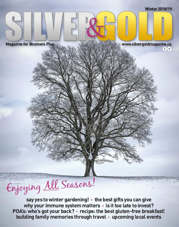 Silver and Gold Magazine Winter 2018/19