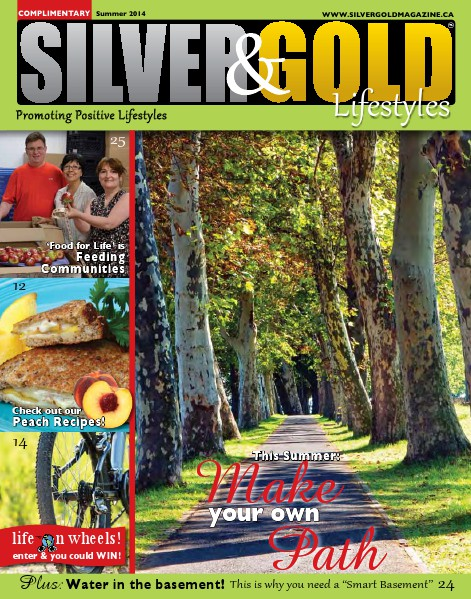 Silver and Gold Magazine Summer 2014