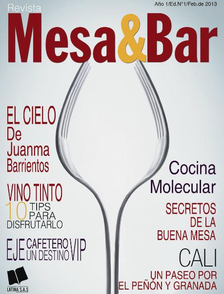 Revista Mesa & Bar Edición N° 1