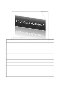 - Economia Aziendale