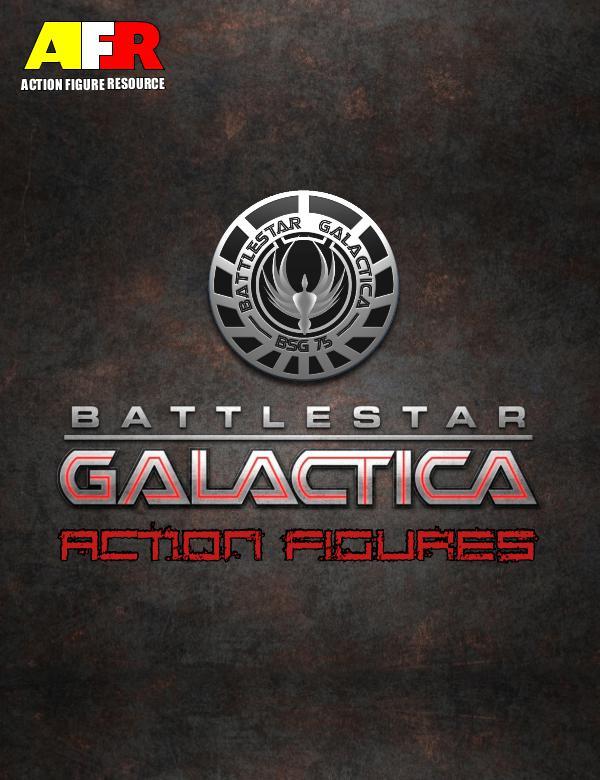 AFR Vintage Action Figure Guides Battlestar Galactica 1st Edition