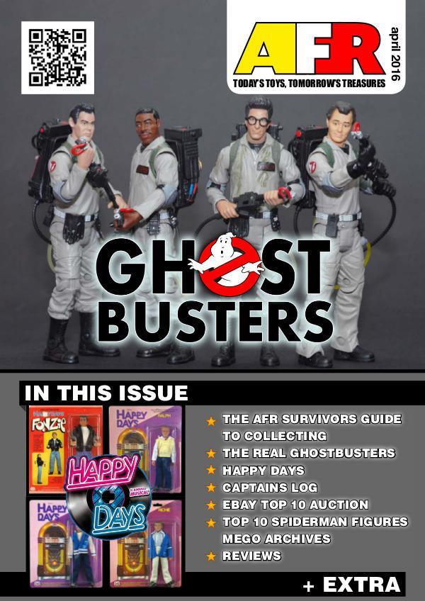 Action Figure Resource Magazine April 2016