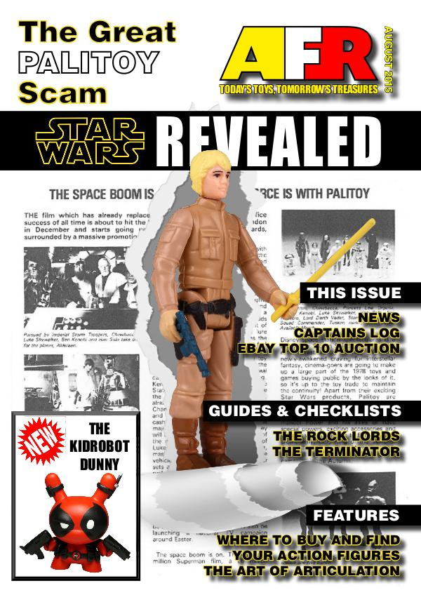 Action Figure Resource Magazine August 2015