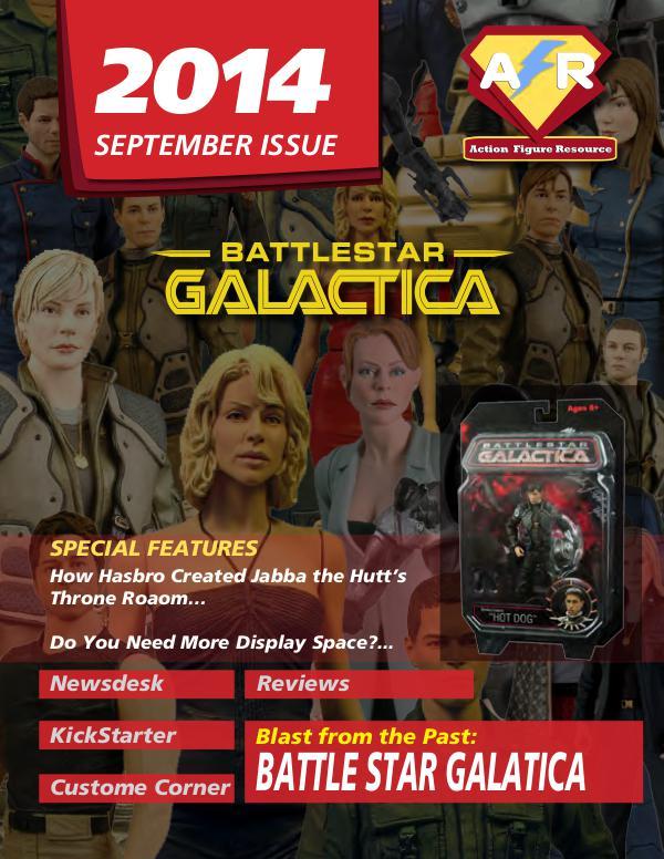Action Figure Resource Magazine September 2014
