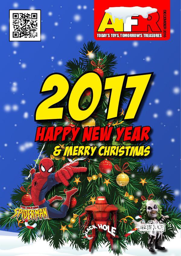 Action Figure Resource Magazine Dec 2016