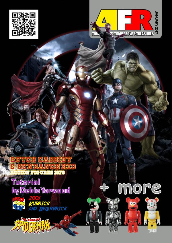 Action Figure Resource Magazine January 2017