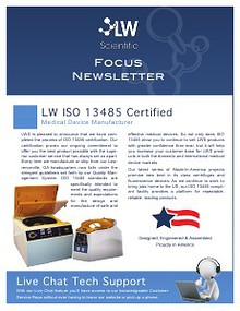 LW Scientific 2013 3rd Quarter Focus Newlsetter