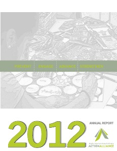2012 Annual Report--Virginia Sexual & Domestic Violence Action Alliance Published August 2013
