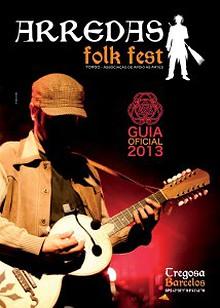 Guia Oficial Arredas Folk Fest 2013