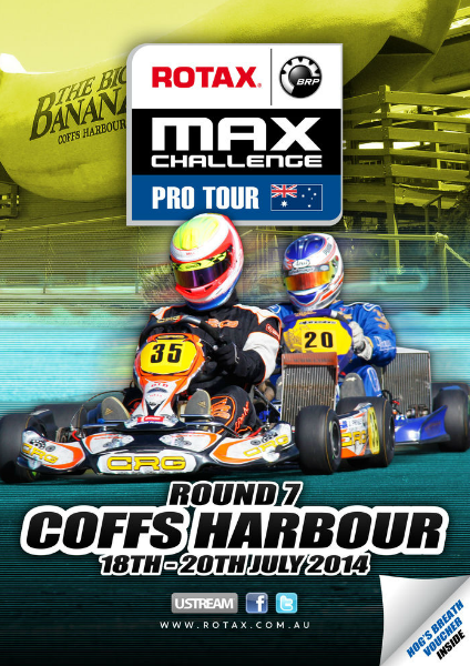 2014 Rotax Pro Tour | Round 7 | Coffs Harbour | July 2014