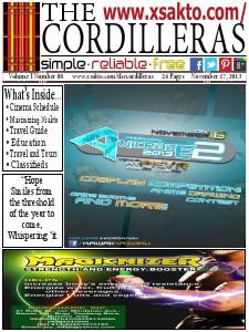 Xsakto: The Cordilleras Vol 1 No 8