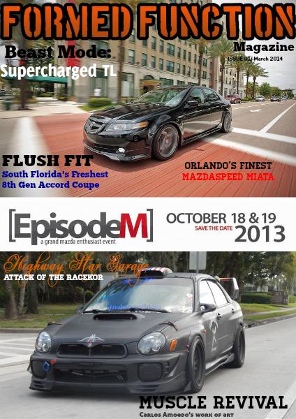 Formed Function Magazine Volume 1