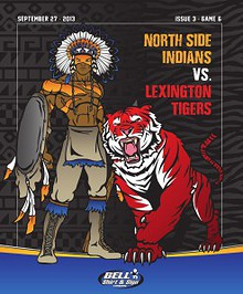 North Side High School Football - Game Program