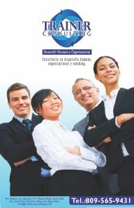 Trainer Consulting - Consultoría en Desarrollo Humano, Organizacional y Coaching T.C. Agosto 2013