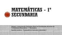 Matemáticas 1°