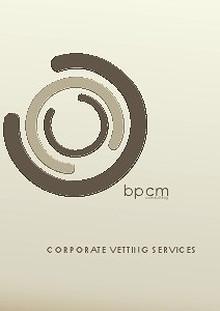 BPCM Vetting Services