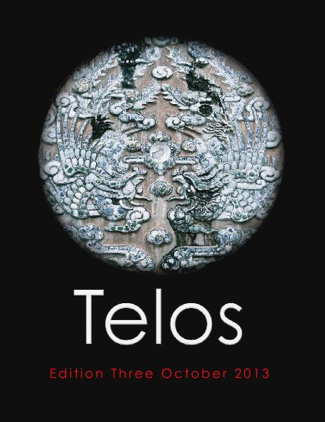 Telos Journal Edition Three October 2013