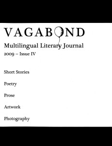 Vagabond Multilingual Journal Spring 2009