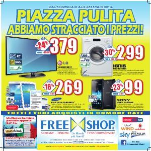 Freeshop Piazza Pulita Abbiamo Stracciato i Prezzi