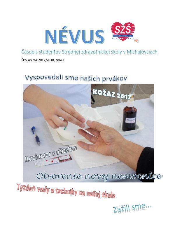 Névus 1 2017/2018 Nevus_1_1718