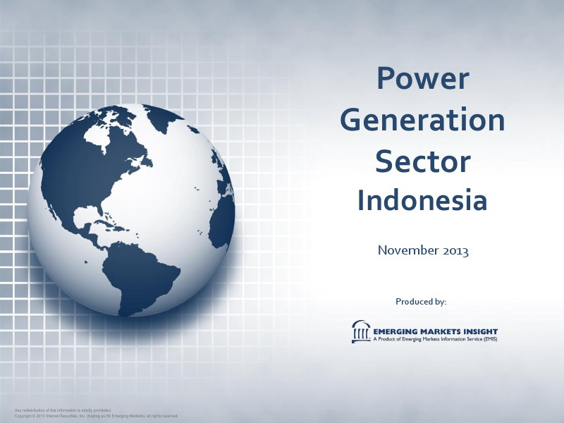 Indonesia Power Sector
