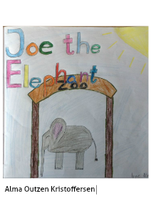 Joe the elephant November 2013