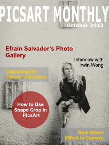 PicsArt Monthly October Issue 2013