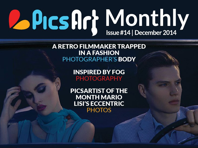 PicsArt Monthly Magazine December Issue 2014