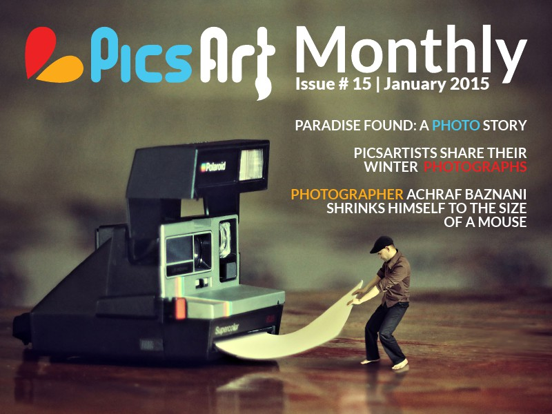 PicsArt Monthly Magazine January Issue 2015