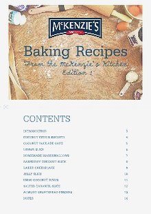 McKenzie's Baking eBook