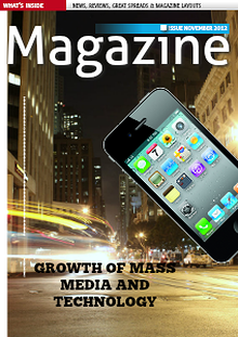 Growth Of Mass Media And Technology