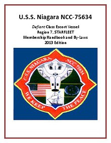USS Niagara By-Laws