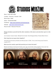 DJ REM STUDIOS Webzine November 2013 Issue 3