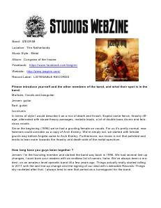 DJ REM STUDIOS Webzine December 2013 1st Issue