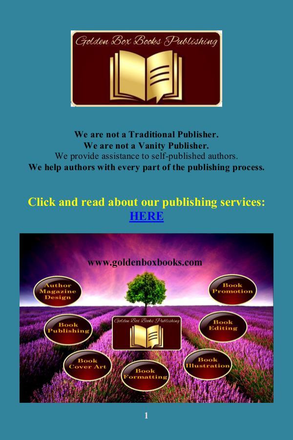 Golden Box Book Publishing GBBP Magazine May 2017