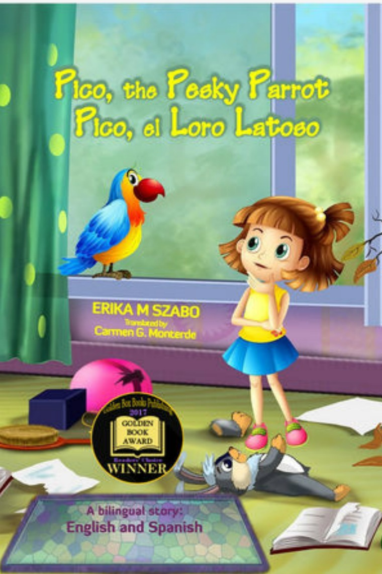 Golden Box Book Publishing Pico The Pesky Parrot