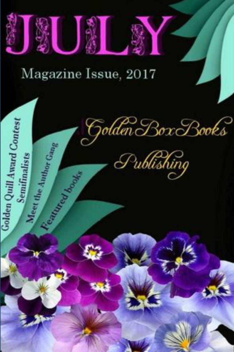 Golden Box Book Publishing GBBP Magazine, July, 2017